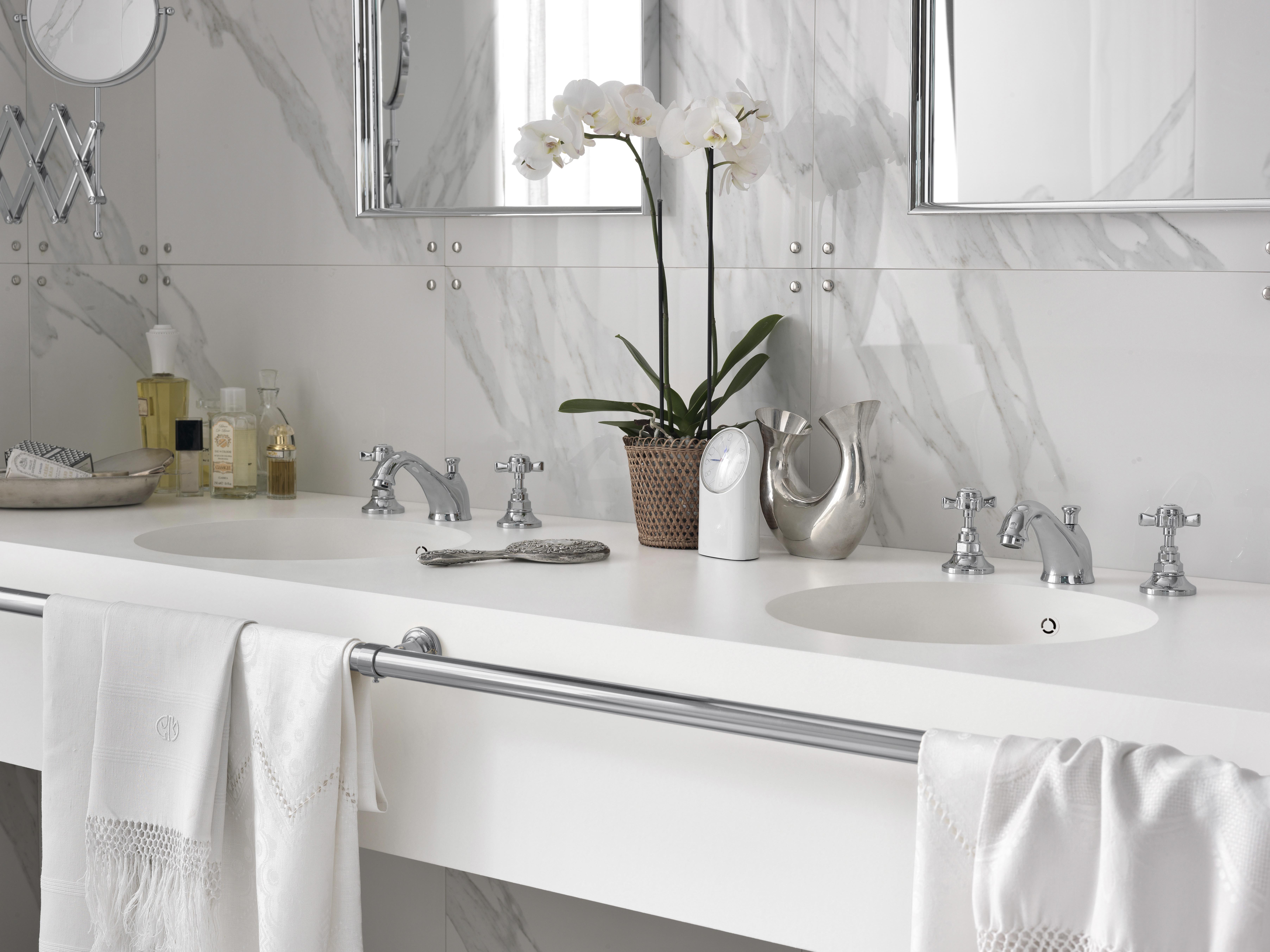 Corian pour plan vasque de salle de bain corian solid surfaces corian - Corian salle de bain ...